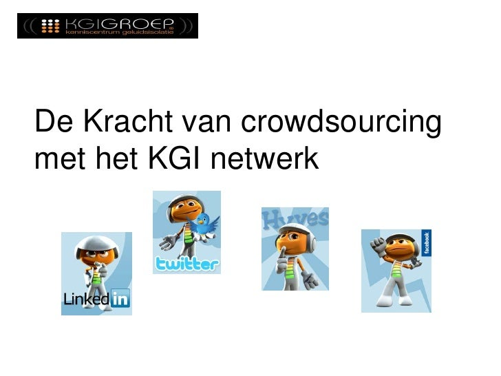 De Kracht van crowdsourcingmet het KGI netwerk