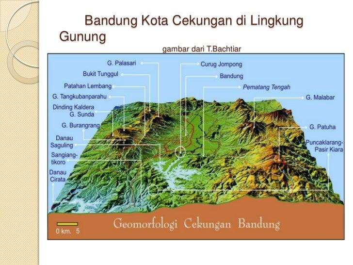 Bandung Kota Cekungan di Lingkung Gunung                                               gambar dari T.Bachtiar<br />
