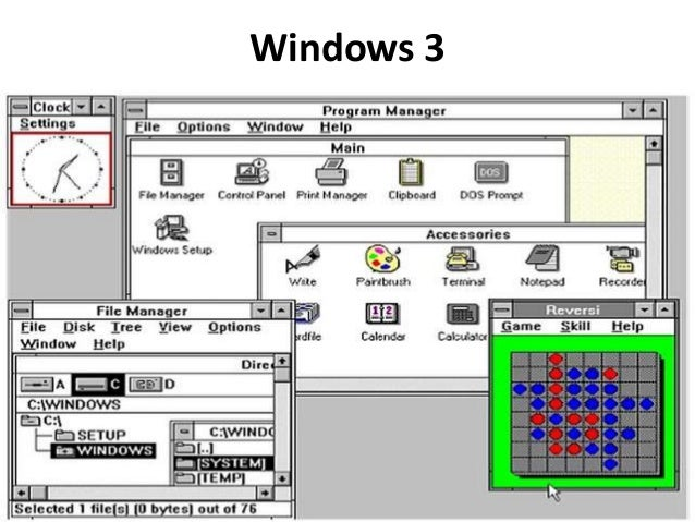 Del 1 al 10 la evoluci n de microsoft windows for Window 3 nmat