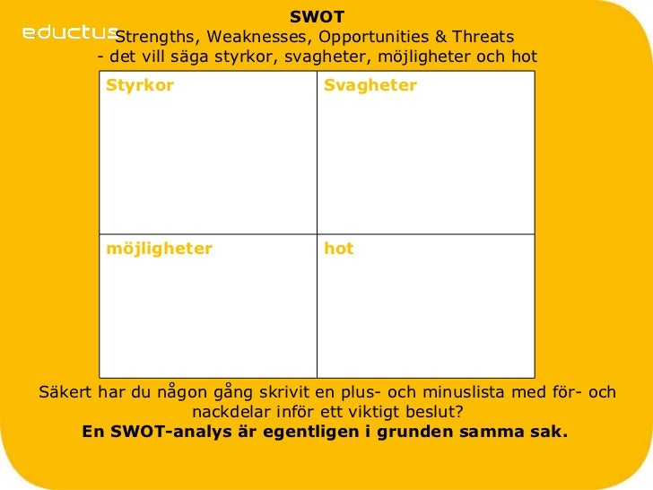 att swot Wikiwealth offers a comprehensive swot analysis of at&t (t) our free  research report includes at&t's strengths, weaknesses, opportunities, and  threats.