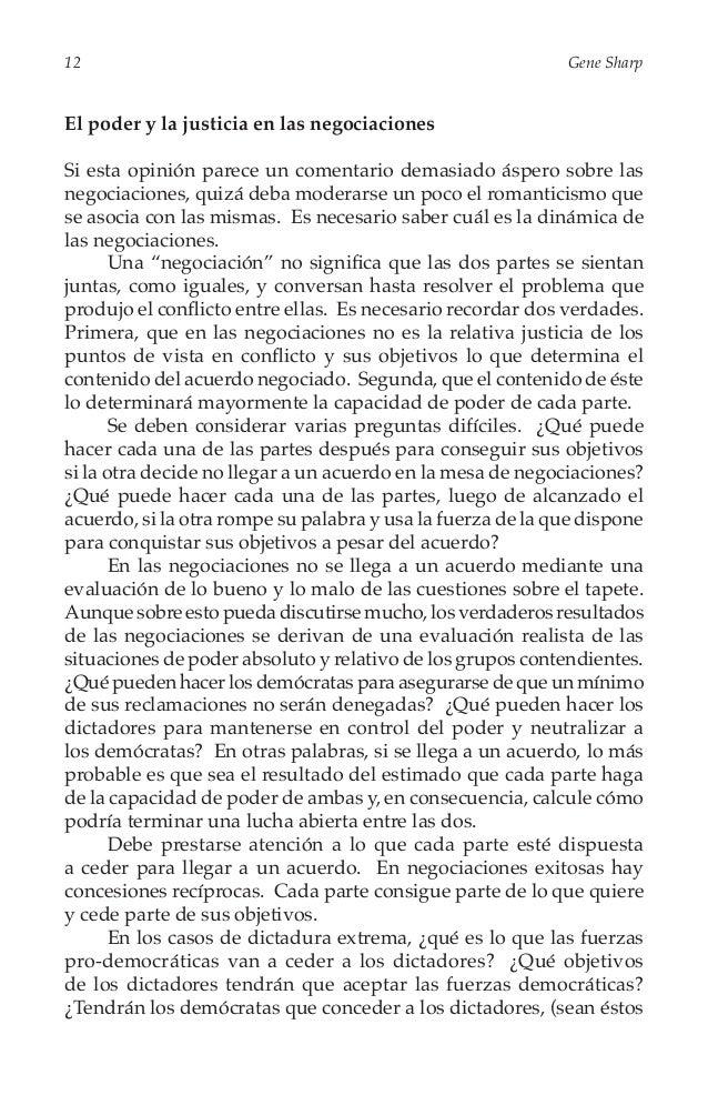 De la Dictadura a la Democracia  13  un partido político o una camarilla militar), un papel permanente, constitucionalment...