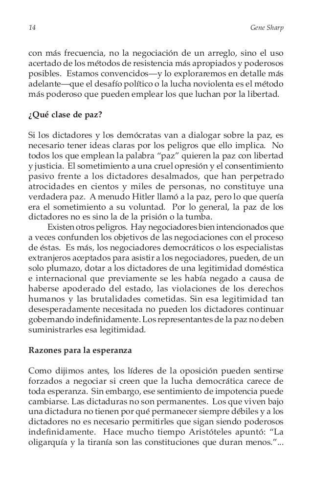 """De la Dictadura a la Democracia  15  """"En ninguna parte han durado mucho tiempo6."""" Las dictaduras modernas también son vul..."""