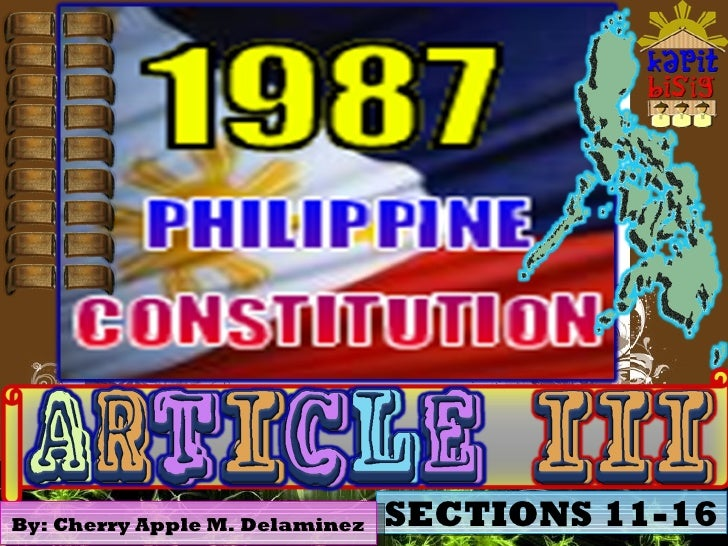article 3 section 11 philippine constitution explanation