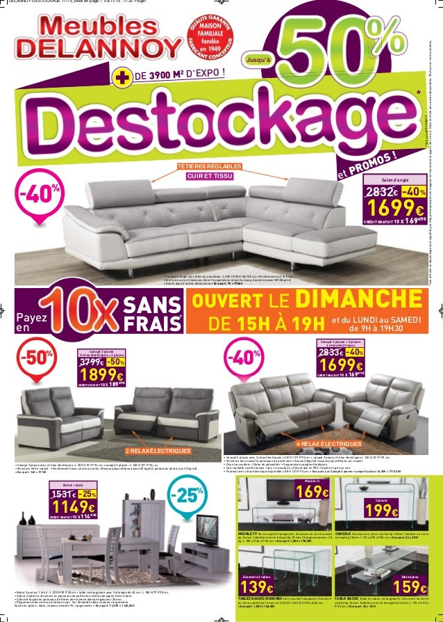 meubles delannoy destockage 2015. Black Bedroom Furniture Sets. Home Design Ideas