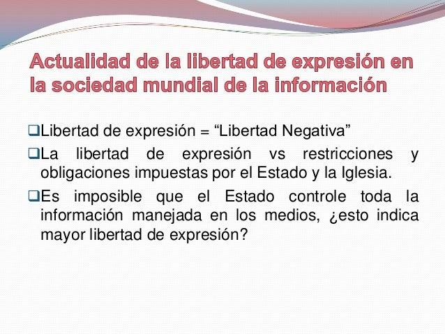 La libertad de información definida como el derechoa acceder a datos en posesión de los poderespúblicos y obtener una inf...