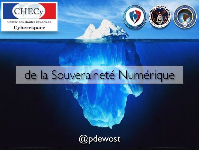 @pdewost de la Souveraineté Numérique
