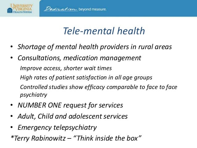 Why Telehealth - Telehealth in an Evolving Healthcare