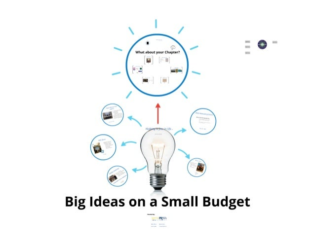 UD - Big Ideas on a Small Budget