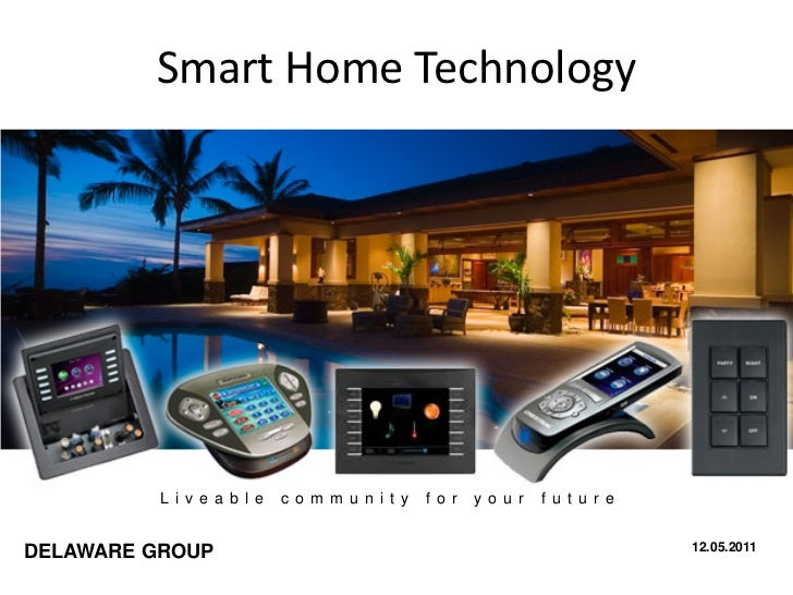 Automation Technology: Smart Home Technologies