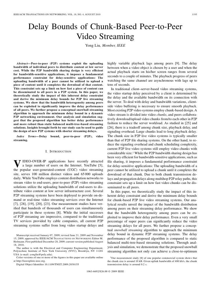 IEEE/ACM TRANSACTIONS ON NETWORKING, VOL. 18, NO. 4, AUGUST 2010                                                          ...