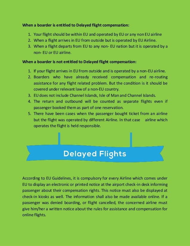 how to ask for compensation for delayed flight