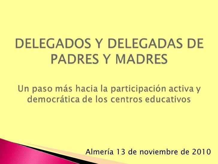 Almería 13 de noviembre de 2010