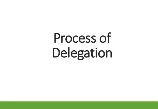 the importance of delegation in organizations The importance of delegation is in team development as well as you can outsource team development to experienced members of your team thereby increasing their mentoring skills as well as decision making.