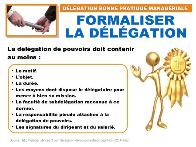 Delegation Bonne Pratique Manageriale