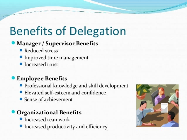delegation theory management