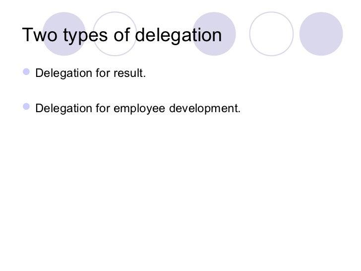 delegation  u0026 empowerment presentation