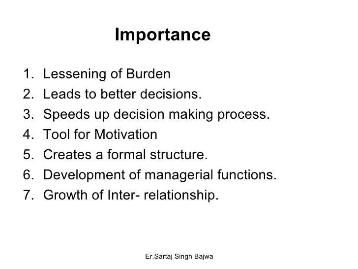 Importance <ul><li>Lessening of Burden </li></ul><ul><li>Leads to better decisions. </li></ul><ul><li>Speeds up decision m...