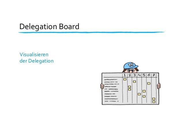 Delegation  Board   Visualisieren     der  Delegation