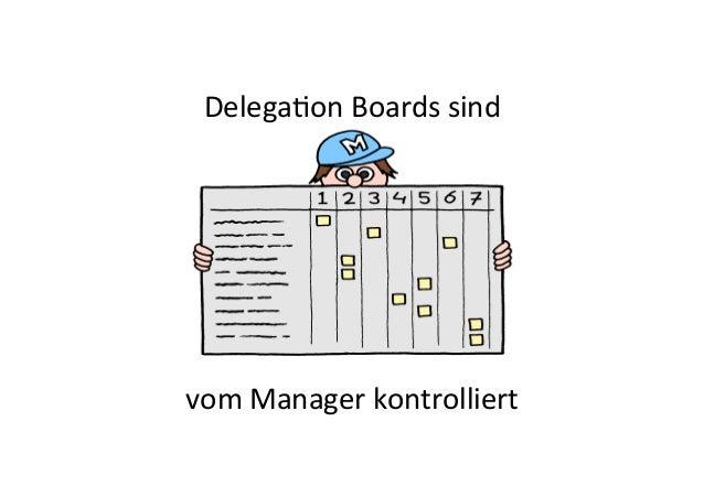 vom  Manager  kontrolliert   DelegaEon  Boards  sind