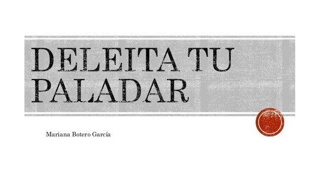 Mariana Botero García