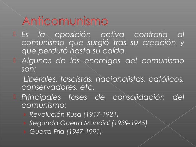   Se denominaGuerra Fríaal enfrentamiento político, ideológico, económico, social, tecnológico, militar, informativo e ...