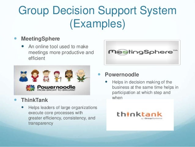 Group Decision System 107
