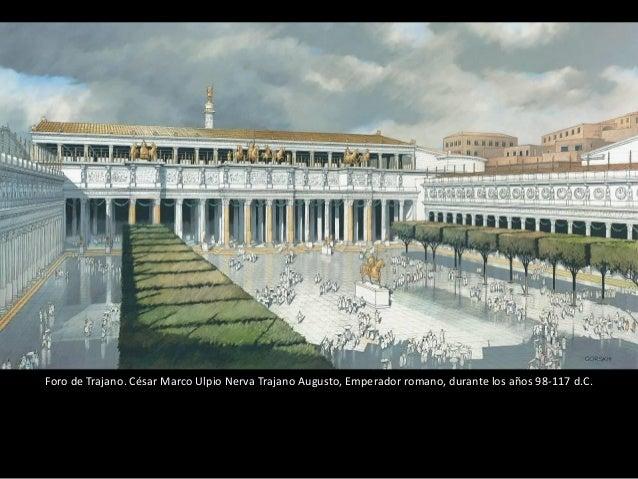 La Columna Trajana o Columna de Trajano es un monumento conmemorativo erigido en Romapor orden del emperador Trajano. Se e...