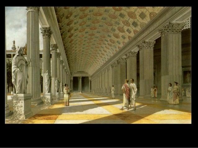  De la exhibición afuera al revestimiento inhibido: El Partenón y el Panteón. InvaginaciónEl Panteón de Adriano