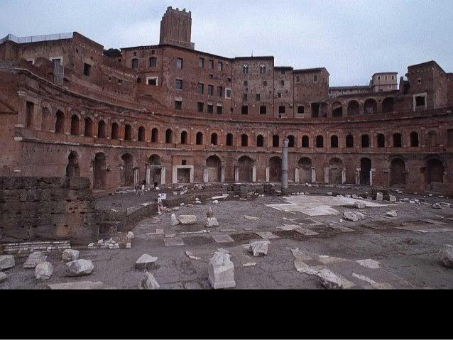  La emergencia del espacio interior, incluso en el espacio público (pérdida de lo específico)El Panteón de Adriano
