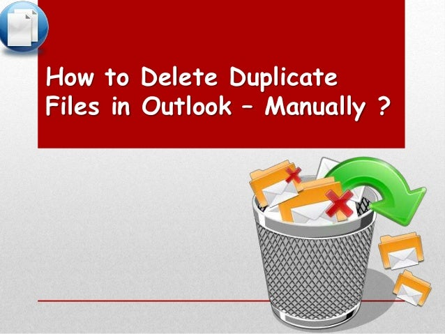 how to find and delete duplicate files