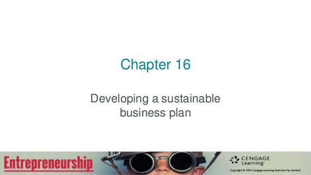 Your Fantastic Sustainability Business Plan: Four Areas of Focus
