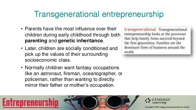 entrepreneurial succession intergenerational entrepreneurship in family In the next section, the authors introduce their proposed conceptual model that sets out to link entrepreneurship education, and entrepreneurial learning, to the ethnic minority, family firm, succession process, and the return of graduates to their family businesses.