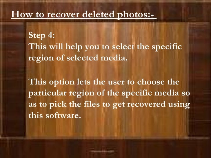 Step 4:  This will help you to select the specific region of selected media. This option lets the user to choose the parti...