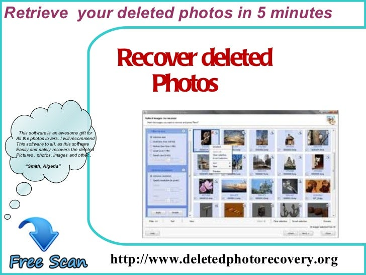How To Remove http://www.deletedphotorecovery.org This software is an awesome gift for All the photos lovers. I will recom...
