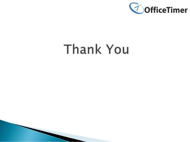 Delete Employee Record in OfficeTimer
