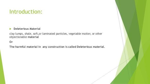 deleterious. sohail mustafa; 2. introduction:  deleterious d