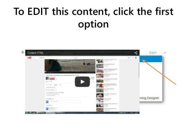 Deleting embedded content in Internet Explorer Slide 3