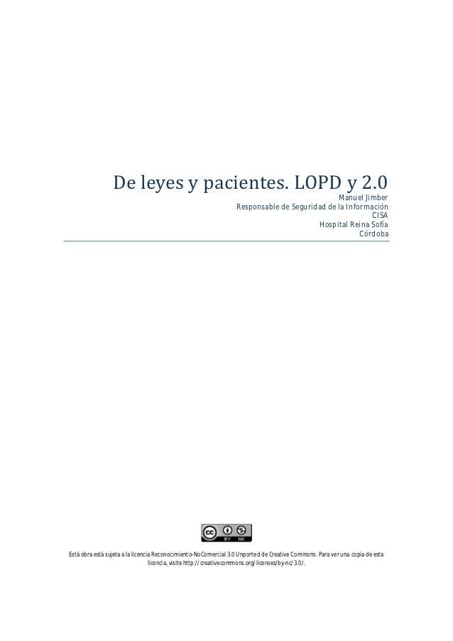 Deleyesypacientes.LOPDy2.0                                                                                          ...