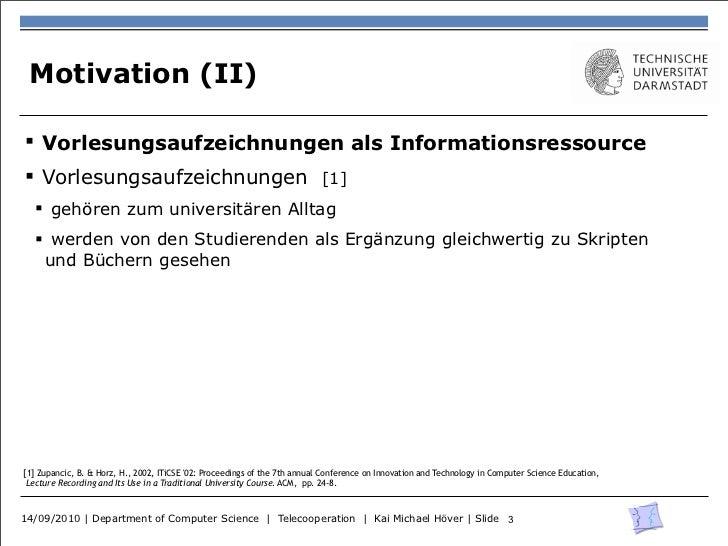 Studierende, das Web und Vorlesungsaufzeichnungen Slide 3