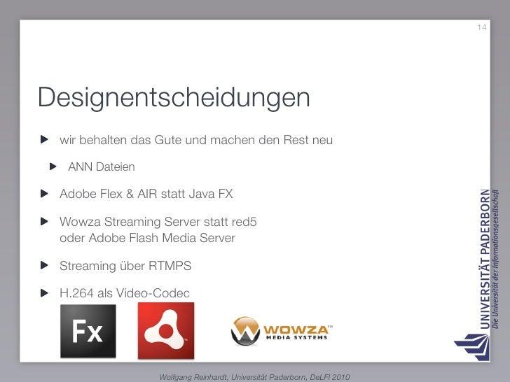 19     XML als Austauschformat      ANN-Datei                             Projektbeschreibung     !     !                 ...