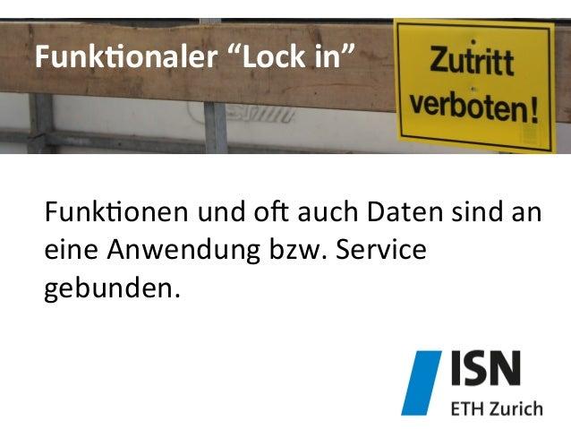"""FunkDonaler  """"Lock  in""""   Funk&onen  und  ob  auch  Daten  sind  an   eine  Anwendung  bzw.  Ser..."""