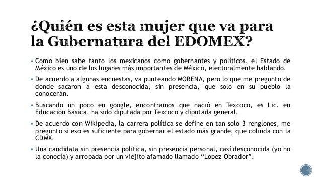 Delfina Gómez, la candidata desconocida Slide 2