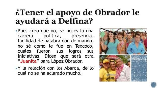 Delfina Gómez, la candidata desconocida Slide 3
