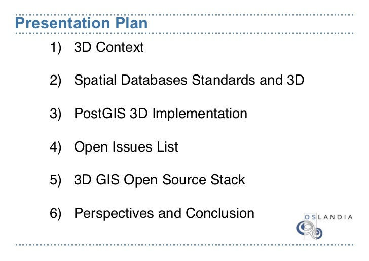 Olivier courtin postgis and 3d Cao open source