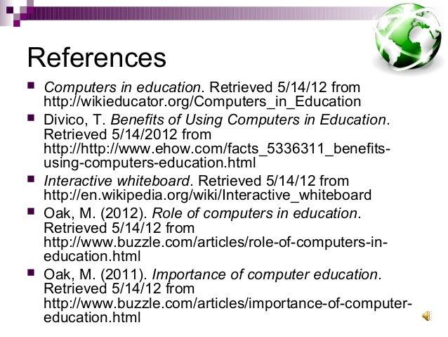 computers benefits essay