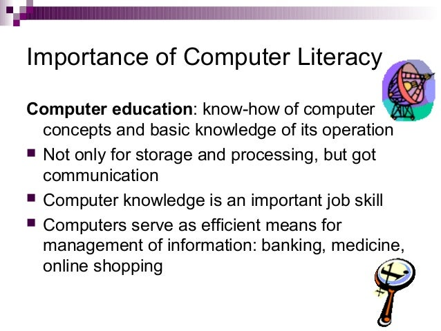 Essay on importance of computer education