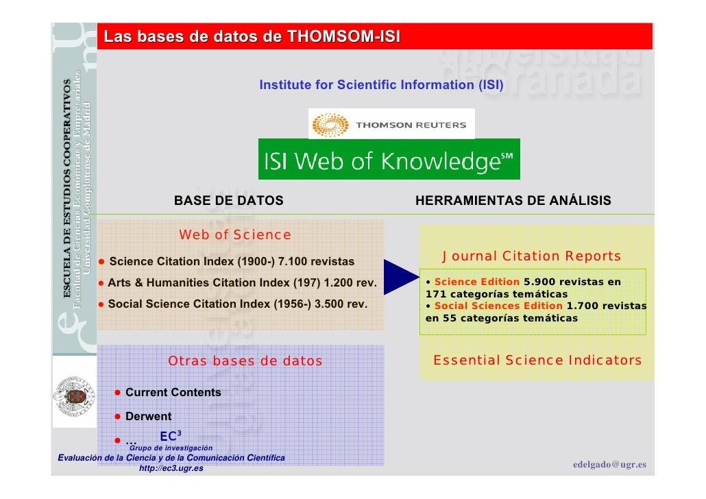 Herramientas para medir el impacto de las publicaciones científicas