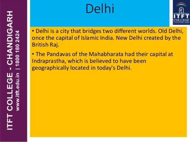 Delhi • Delhi is a city that bridges two different worlds. Old Delhi, once the capital of Islamic India. New Delhi created...