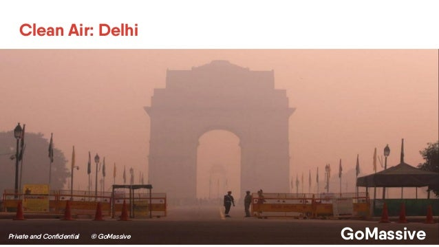 Private and Confidential © GoMassive GoMassive Clean Air: Delhi