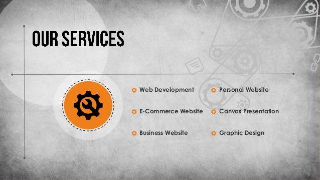 Web Development E-Commerce Website Business Website Personal Website Canvas Presentation Graphic Design